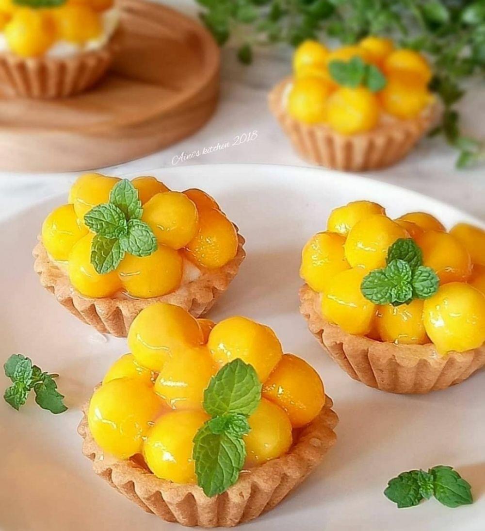 kue berbahan buah © Instagram