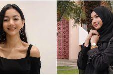 10 Potret Glenca Chysara tampil berhijab ini curi perhatian