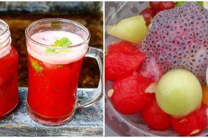 10 Resep minuman segar berbahan semangka, mudah dan cepat dibuat