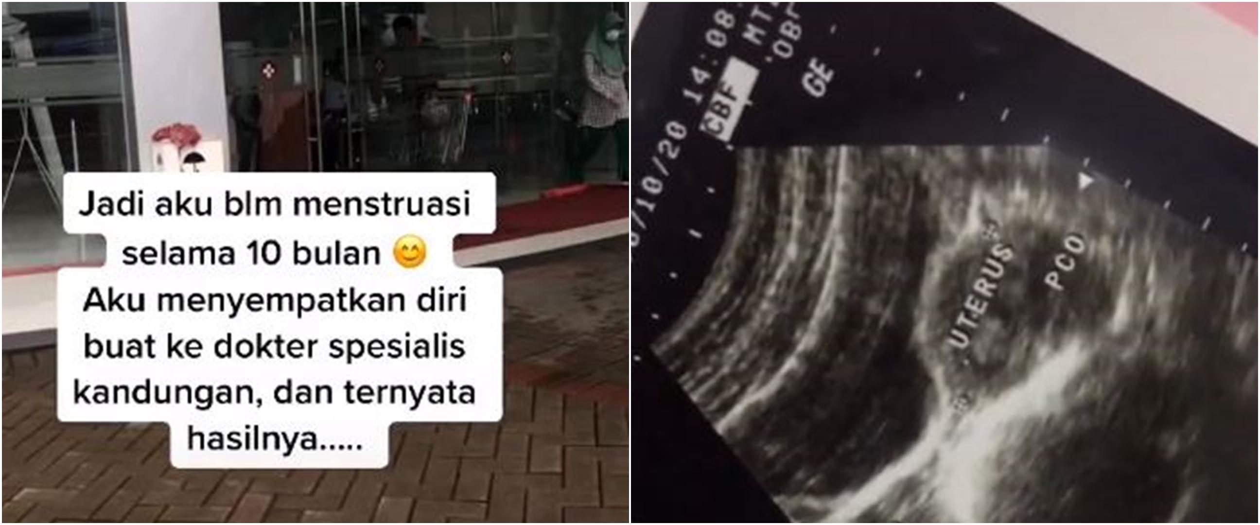 Viral cerita cewek tak bisa haid 10 bulan, penyebabnya bikin kaget