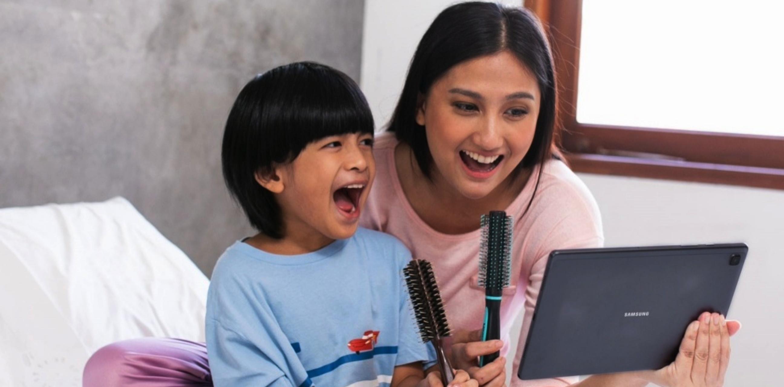 6 Tips agar anak fokus belajar dan bergembira bareng keluarga di rumah