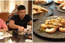 8 Potret dinner Nikita Willy dan Indra, undang private chef ke rumah