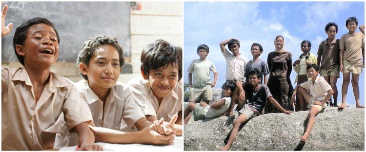 Kabar terbaru 8 anak di film Laskar Pelangi, ada yang jadi astrada