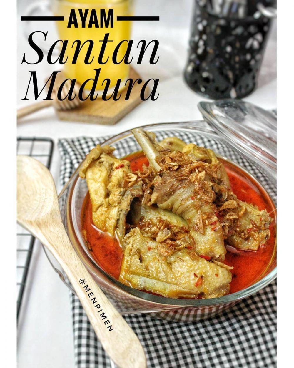 resep ayam santan © 2020 brilio.net/ Instagram