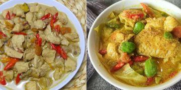 9 Resep ayam masak santan ala rumahan, enak, dan bikin nagih