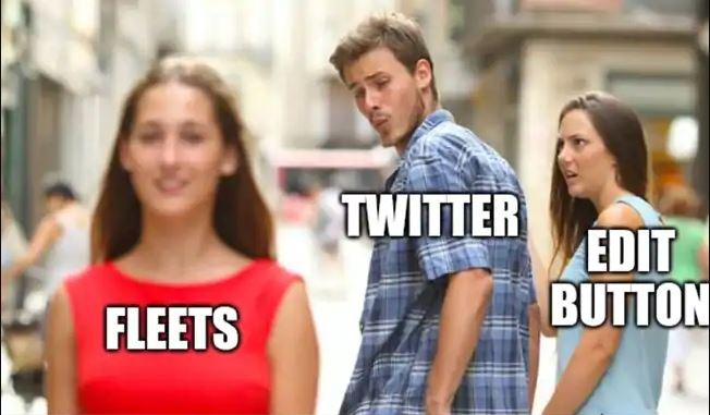 meme twitter fleets Twitter