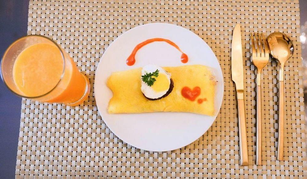 menu sarapan seleb    © 2020 brilio.net