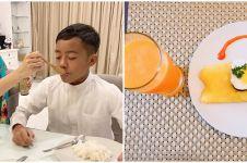 Intip 8 potret menu sarapan seleb Tanah Air, sederhana dan sehat