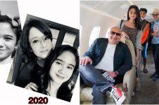 Maia Estianty ajak kekasih anaknya liburan bareng naik private jet