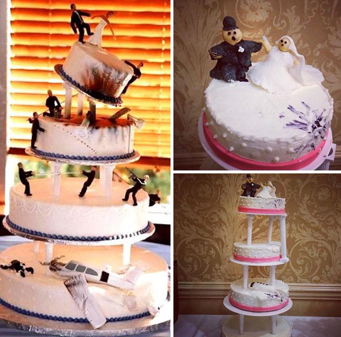 wedding cake gagal © Berbagai Sumber