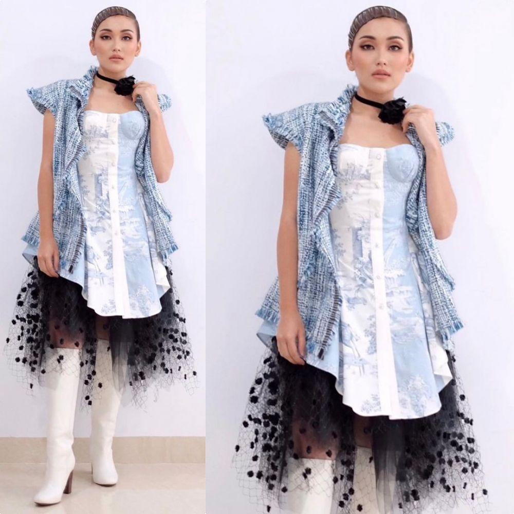 Pesona Ayu Ting Ting di Anugerah Dangdut Indonesia 2020 Instagram
