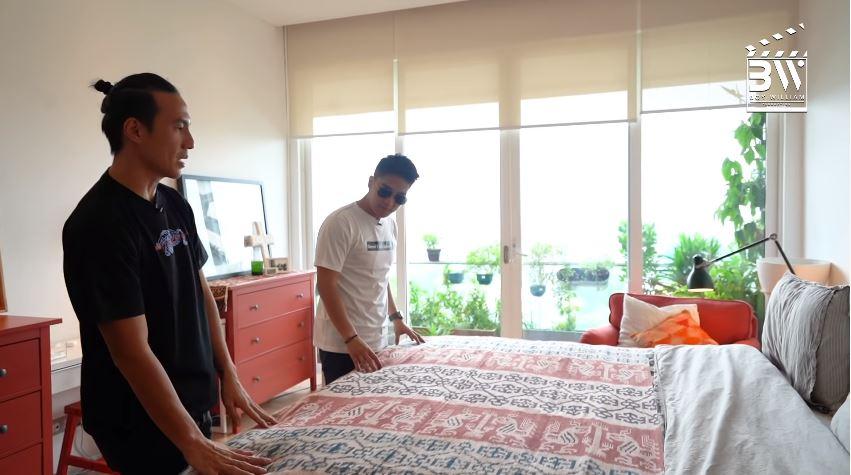 penampakan kamar daniel mananta © YouTube