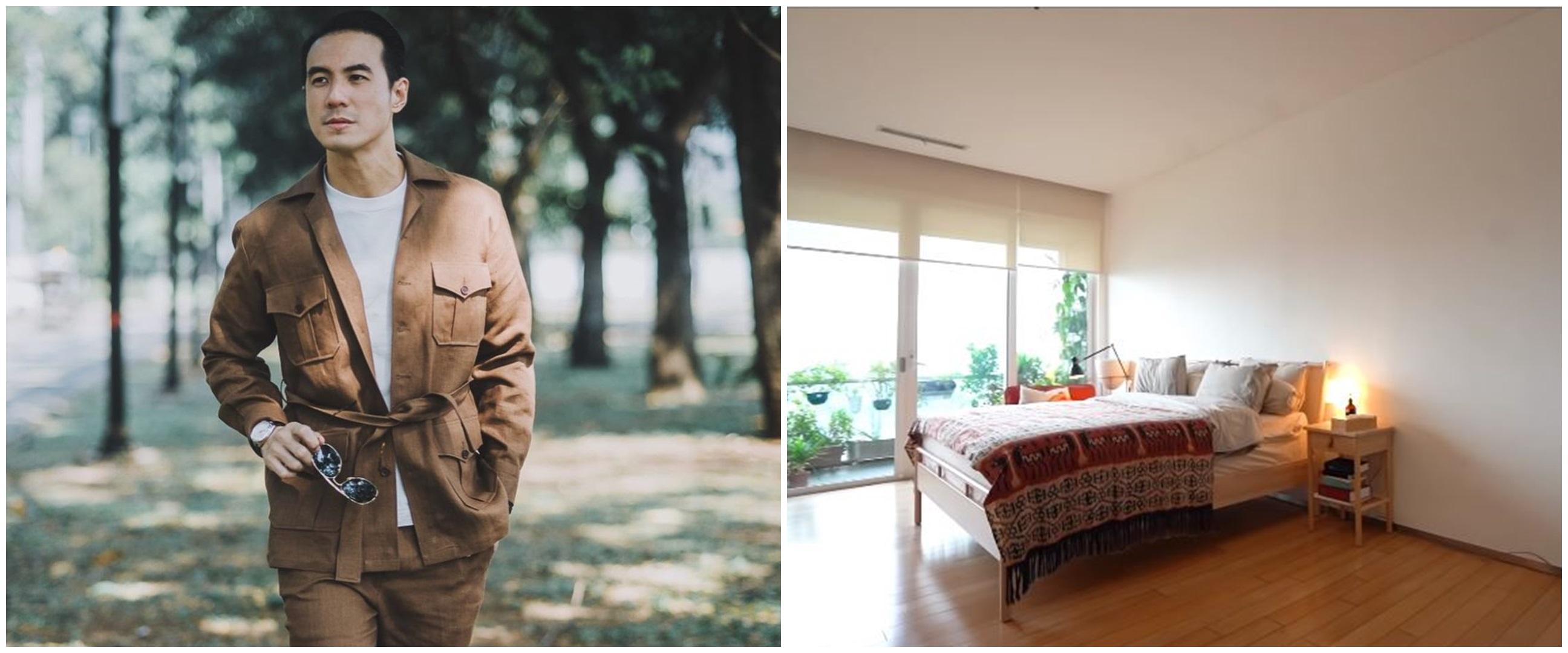 8 Penampakan kamar Daniel Mananta, simpel tanpa banyak perabotan