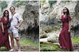 10 Momen Tissa Biani liburan di Bali bareng keluarga Dul Jaelani