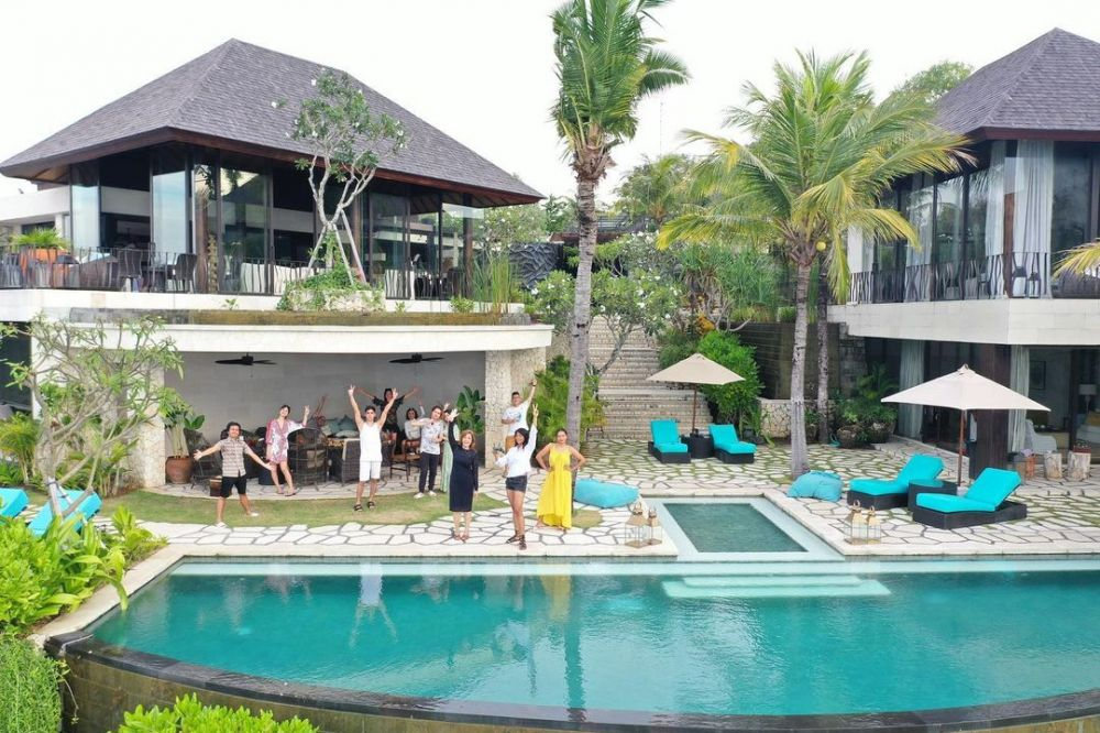 Momen Tissa Biani liburan di Bali © Instagram