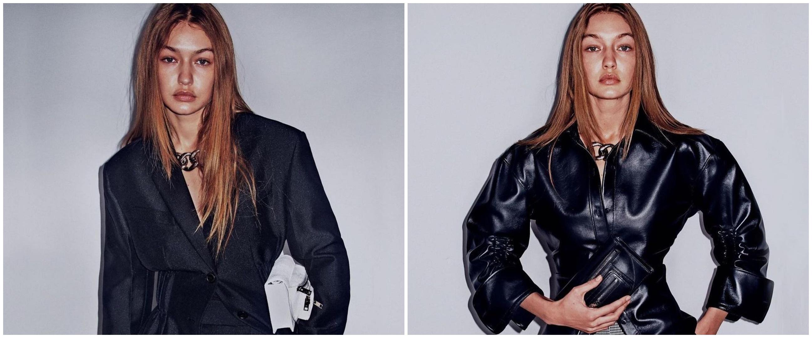 Gigi Hadid perdana unggah momen momong anak, gayanya natural abis