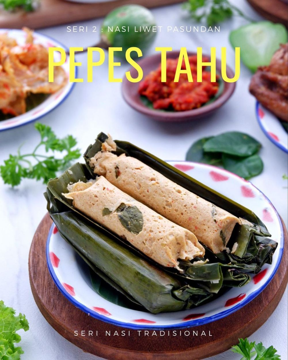 Resep pepes tahu © 2020 brilio.net