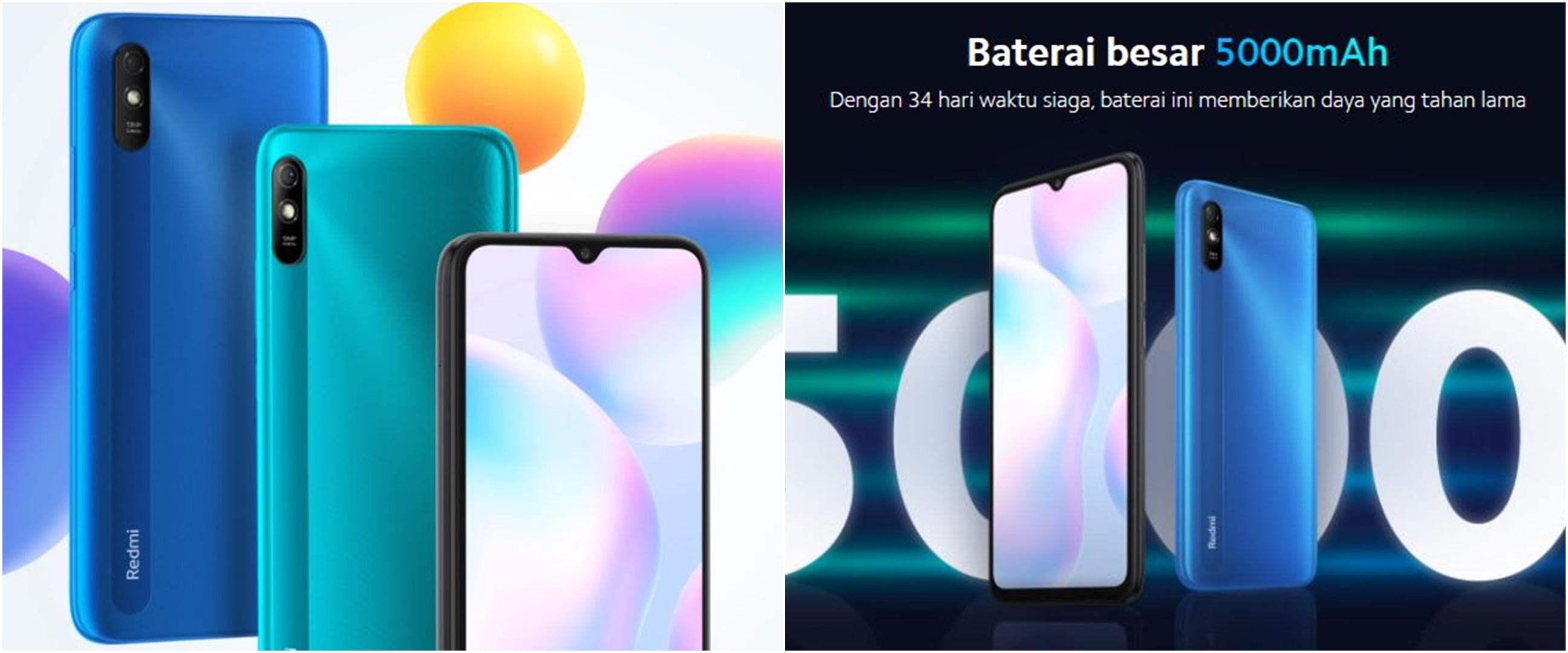 Harga Xiaomi Redmi 9A, serta spesifikasi, kelebihan dan kekurangannya