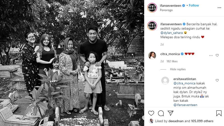ifan komentar citra © Instagram