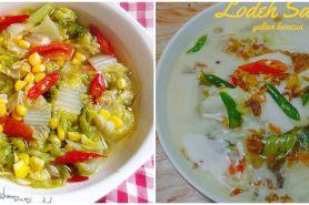 10 Resep sayur sawi putih, enak, praktis, dan bikin nagih