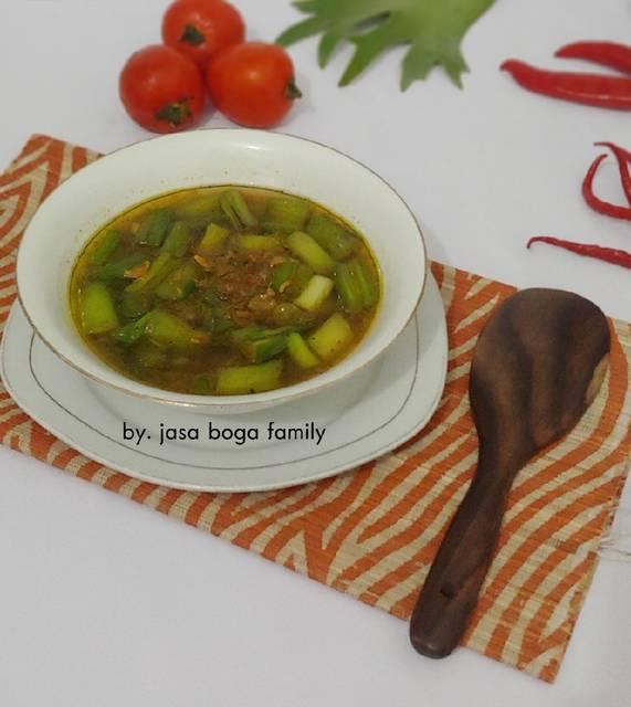 Resep olahan batang talas © 2020 brilio.net /cookpad/ Instagram