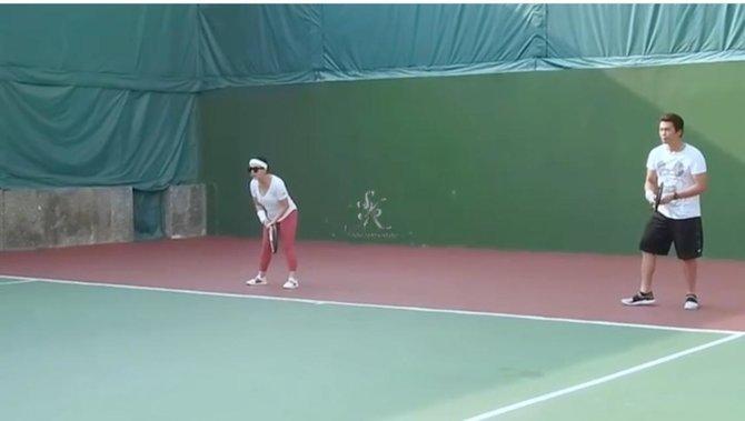 8 potret syahrini tennis © Instagram