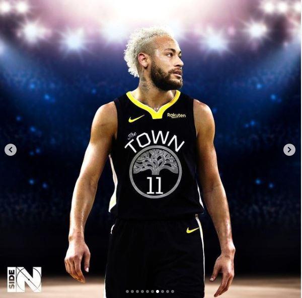 editan potret pemain bola jadi pemain basket Instagram