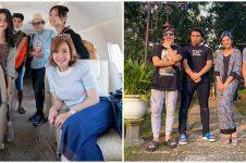 Momen 12 seleb liburan bareng keluarga pacar, akrab banget