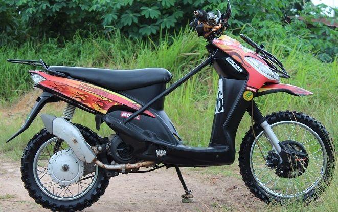 modifikasi dua motor jadi satu berbagai sumber