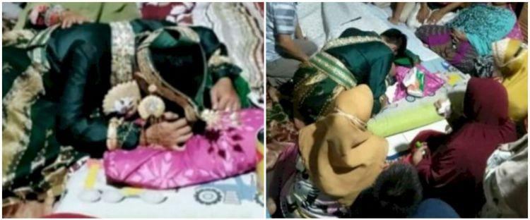 Kisah pengantin menangis di depan jenazah ibunya jelang resepsi