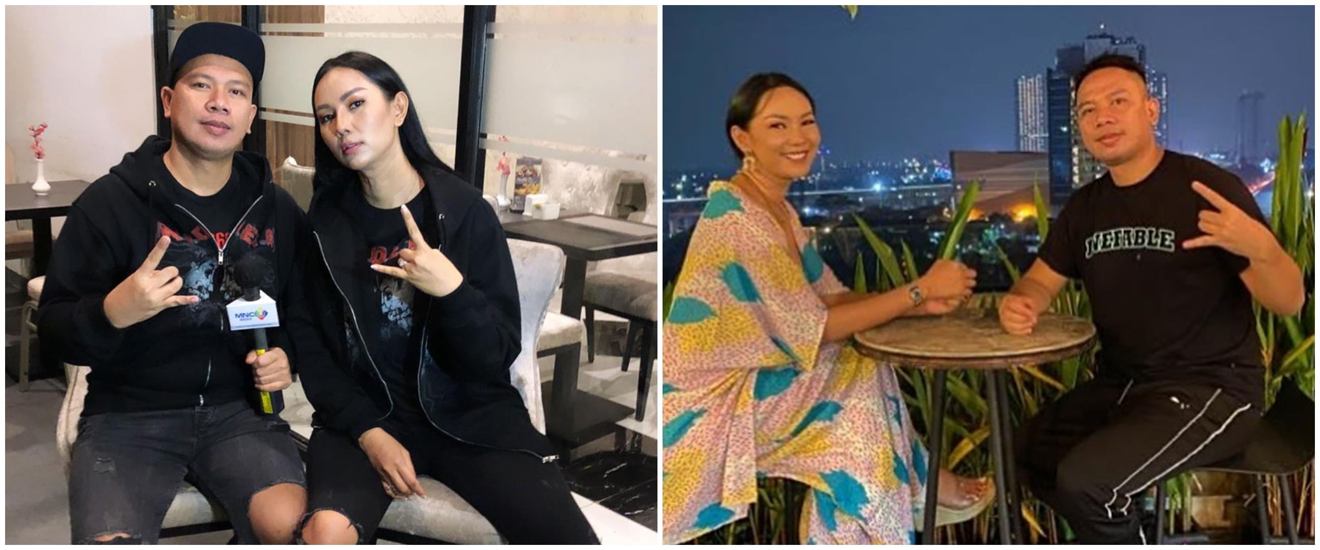 10 Momen Kalina Ocktaranny bareng keluarga Vicky, makin hangat & akrab