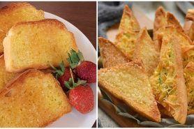 10 Resep kreasi roti bagelen, praktis dan jadi camilan sehat
