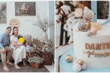 10 Momen perayaan satu bulan anak kedua Chelsea Olivia & Glenn, meriah