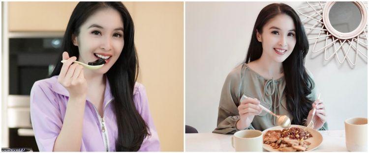 Unggah foto makanan, menu sarapan Sandra Dewi jadi sorotan