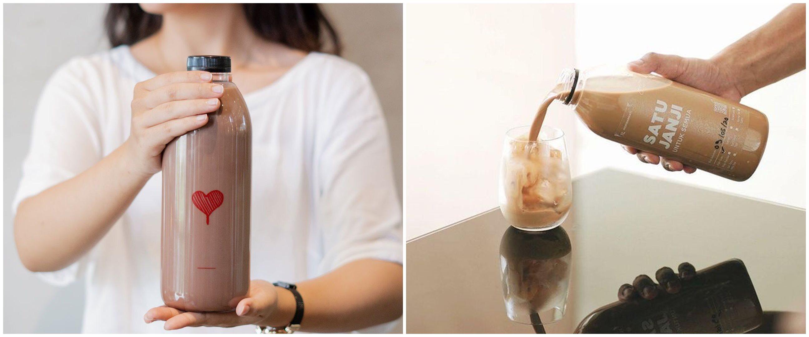 Memetik laba dari inovasi kopi literan yang hits kala pandemi
