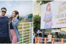 Viral crazy rich Surabaya rayakan ultah istri pakai baliho, unik abis