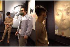 8 Potret galeri seni di rumah bos ANTV Otis Hahijary, bikin melongo