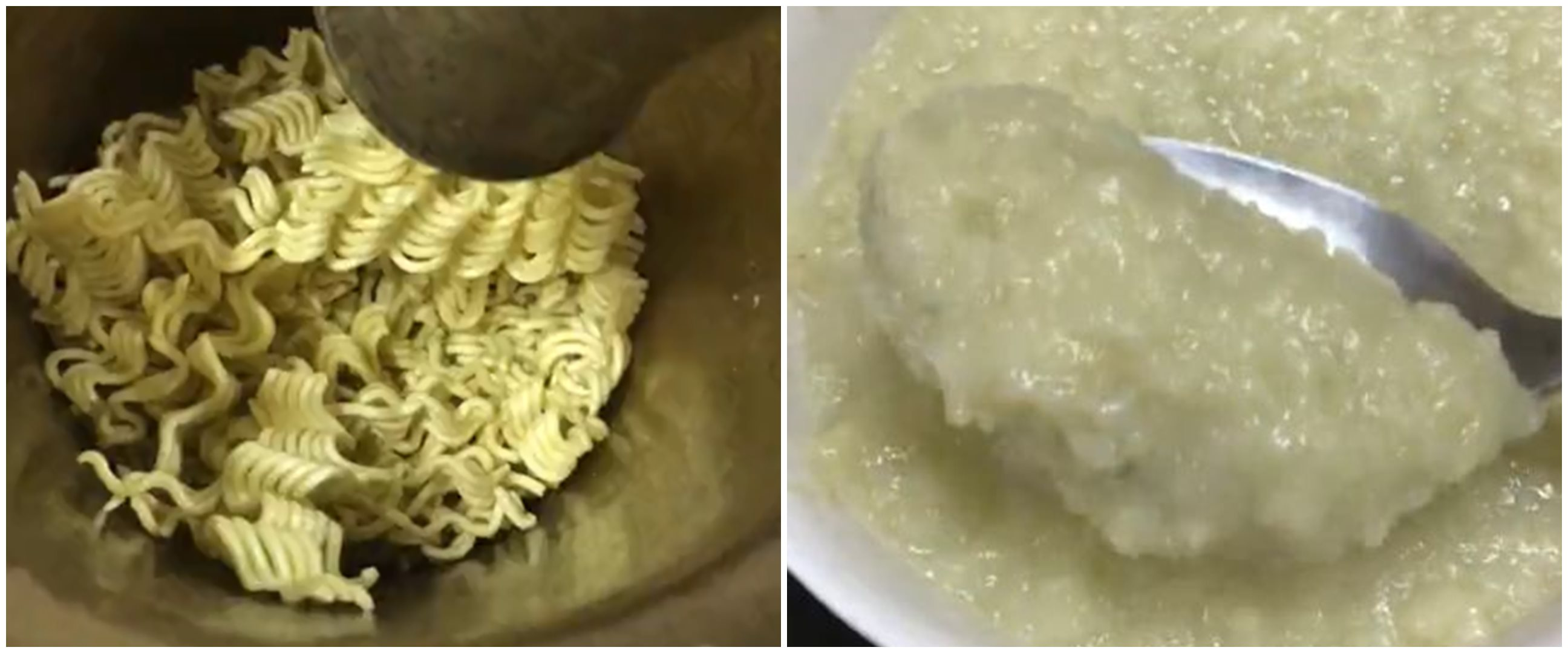 Viral orang masak mi instan jadi bubur, warganet sebut 'aliran' baru