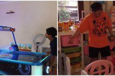 10 Potret area bermain anak Sarwendah, koleksinya bikin melongo