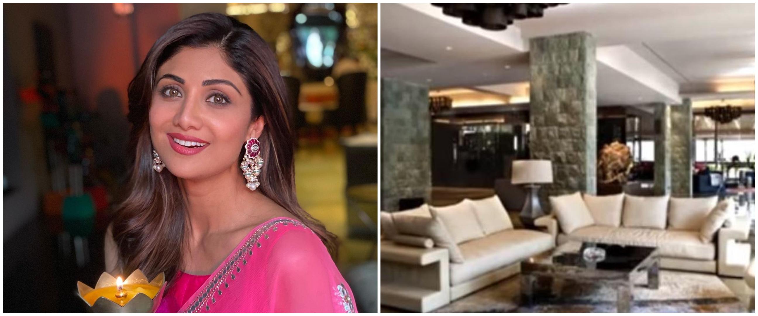 10 Potret rumah seleb Bollywood Shilpa Shetty, megah dengan view laut