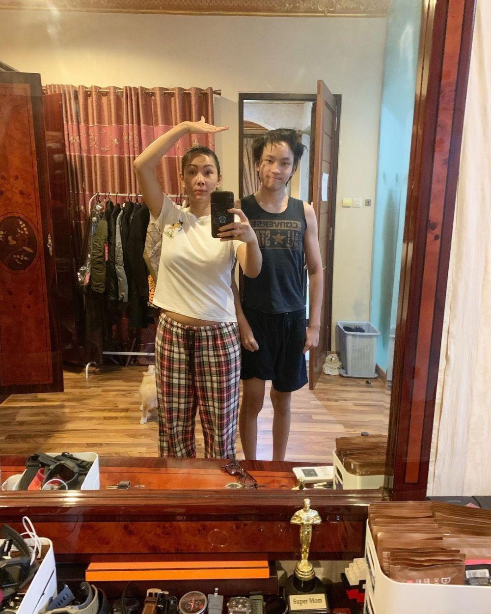 Momen Kalina dan Azka Corbuzier © 2020 brilio.net