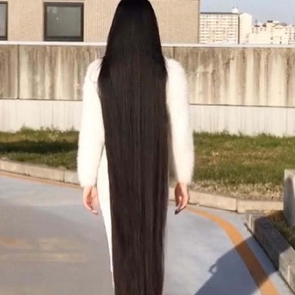 Dijuluki Rapunzel Jepang, wanita ini tak potong rambut hingga 15 tahun