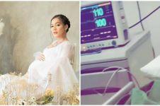 6 Momen Kezia Warouw melahirkan putri pertama, penuh haru