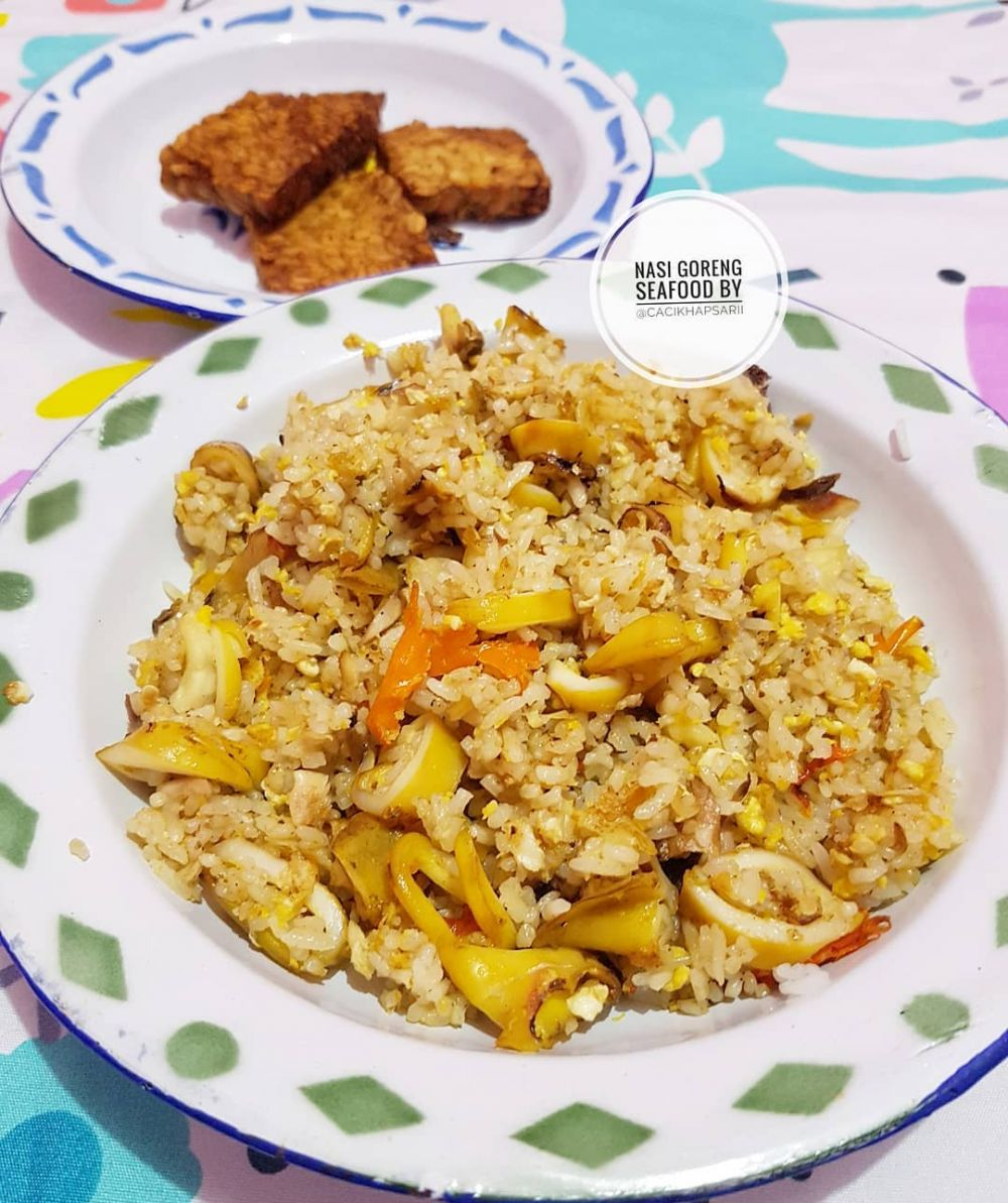 resep nasi goreng seafood ©Instagram