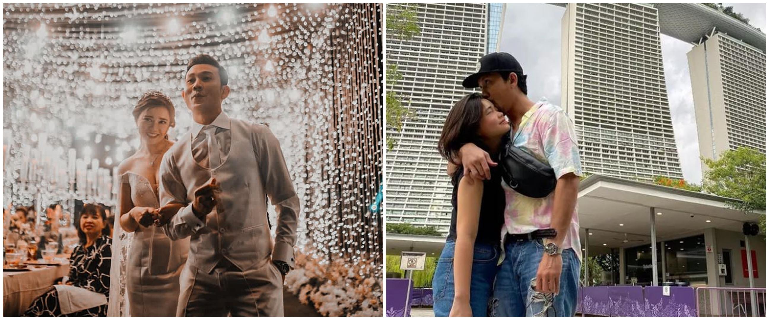 6 Momen Denny Sumargo dan istri usai menikah, romantis main basket