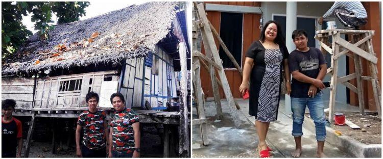 10 Potret rumah Aty Kodong dulu dan kini, bukti sukses jadi artis