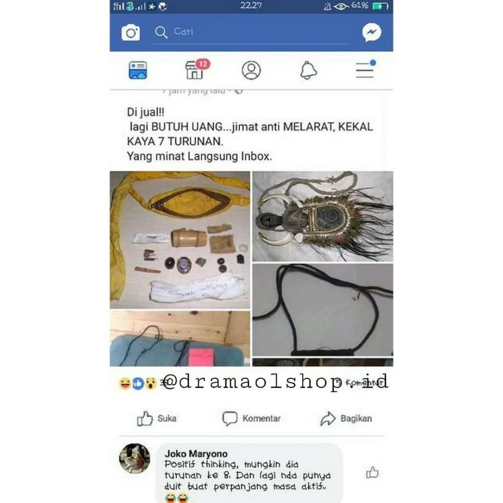 barang absurd di online shop Berbagai sumber