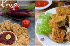 7 Resep camilan dari terong ala rumahan, enak dan sederhana