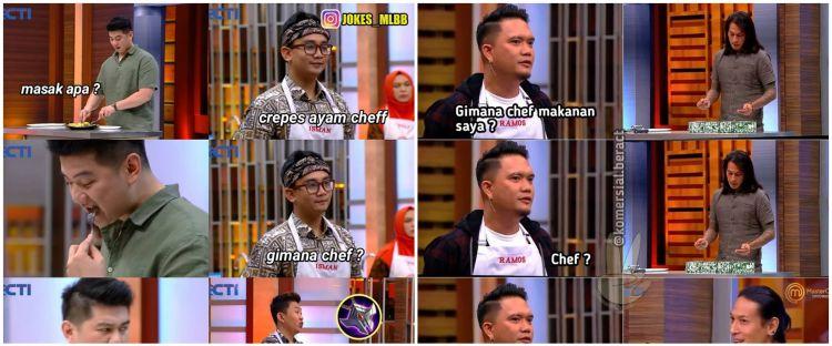 12 Meme lucu juri icip masakan peserta MasterChef season 7