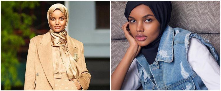 10 Potret Halima Aden, model yang pilih pensiun demi dalami agama